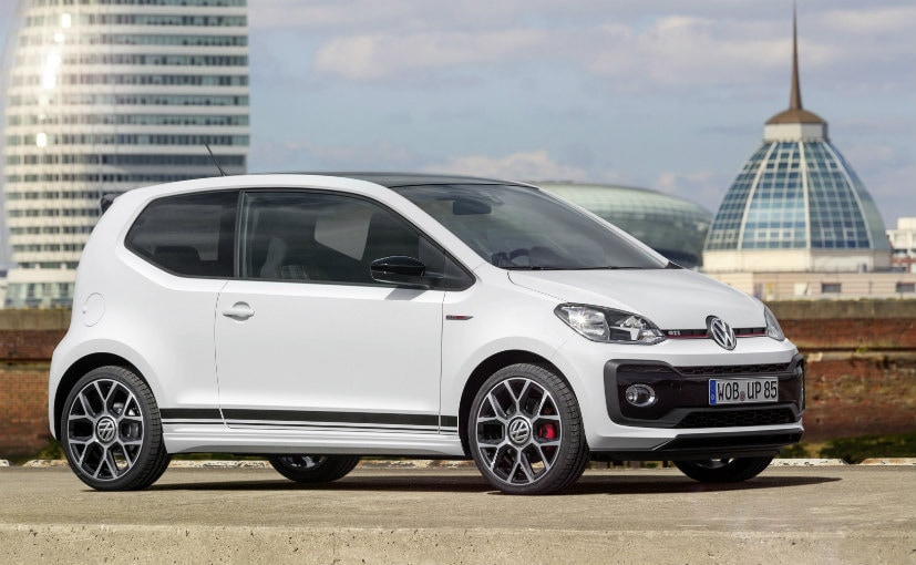 Volkswagen Up! GTI Revealed; To Go On Sale Next Year