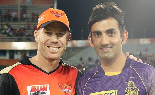 IPL10: एलिमिनेटर में गंभीर ने वॉर्नर की टीम को पछाड़ा लेकिन इस मामले में नहीं दे पाए मात..