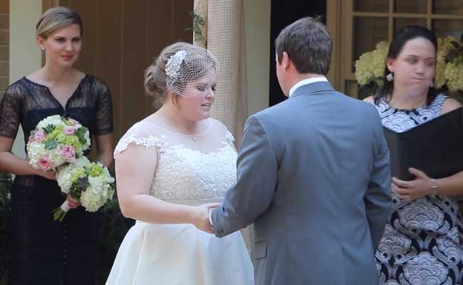 Gasp! Minister Throws Up During Vows. Now Watch What The Bride Does