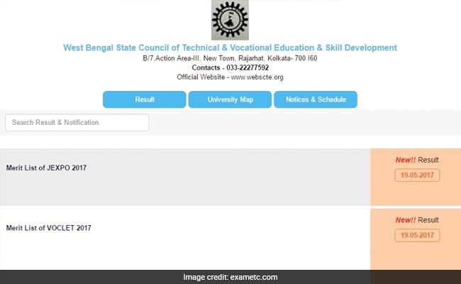 west bengal wb jexpo voclet 2017