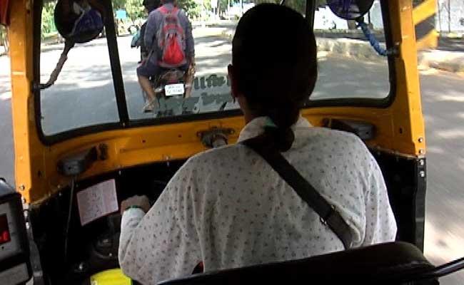 woman auto driver