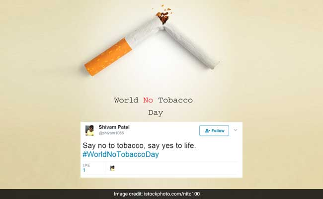 World No Tobacco Day Has Twitter Buzzing With 'No Smoking' Messages