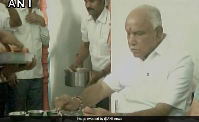 After BS Yeddyurappa Eats Hotel Food At Dalit Home, BJP Explains Why