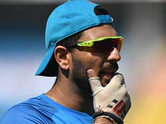 Champions Trophy: Worry For Team India As Yuvraj Singh Skips Training Ahead of Warm-up Match