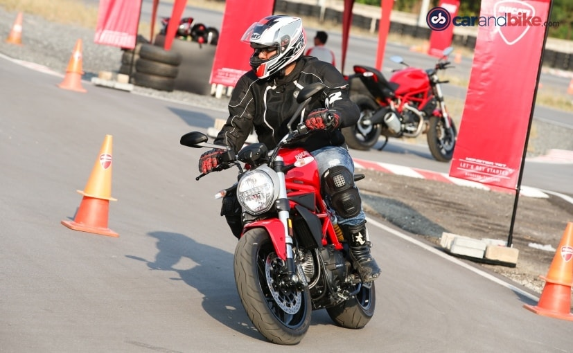 2017 ducati monster first ride