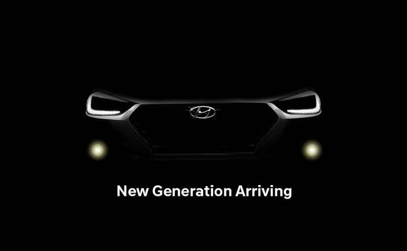 Hyundai Verna launch by August, teaser reveals a sharper design