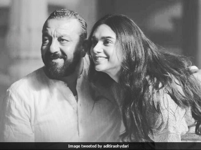 Aditi Rao Hydari Shares A Throwback Picture With 'Eternal Rockstar' Sanjay Dutt