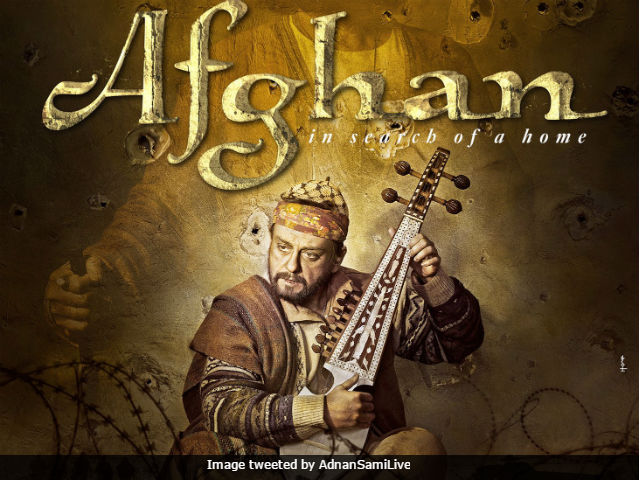 Adnan Sami Shares First Poster Of His Debut Film Afghan - In Search Of A Home