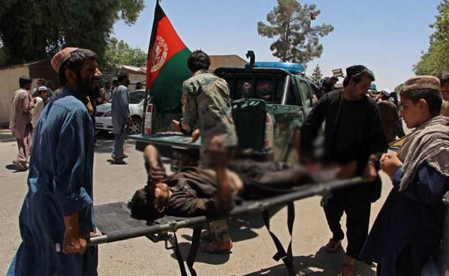 20 Dead, 50 Wounded As Car Bomb Hits Bank In South Afghanistan: Officials