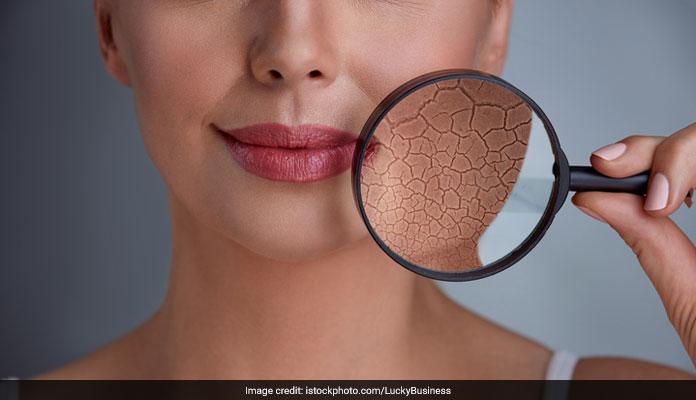 ageing skin examination