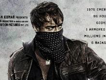 <i>Baadshaho</i> Poster: Ajay Devgn Is 'The Badass In A Bandana'
