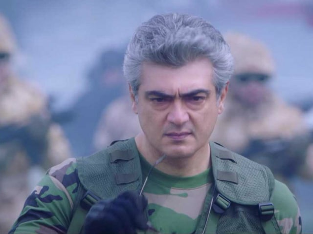 Vivegam Song Surviva Is 'Addicting,' Tweets Ajith Kumar's Co-Star