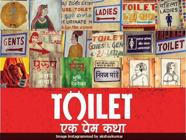 Akshay Kumar Shares Cool New Poster Of Toilet: Ek Prem Katha