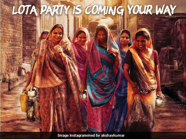 Akshay Kumar, Counting Down To Toilet: Ek Prem Katha Trailer, Makes An Appeal