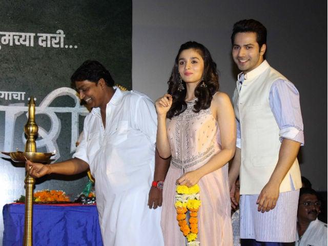 Alia Bhatt And Varun Dhawan Launch Ganapati Song From Marathi Film Bhikari
