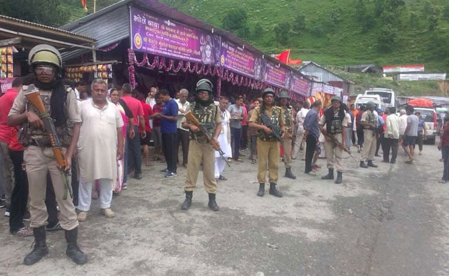 Pilgrims With Cameras >> Drones, Satellites, CCTV Cameras To Monitor Amarnath Yatra In Valley