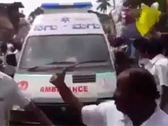 Police Denies HD Deve Gowda Event Blocked Ambulance In Karnataka's Chikkaballapur