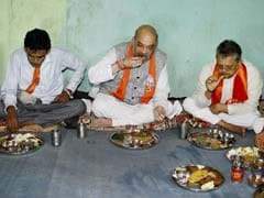 Cooler, LPG Stove At Tribal's Home Where Amit Shah Lunched Will Remain