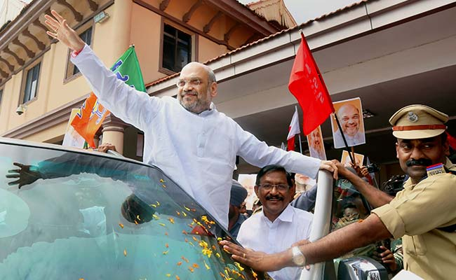 Green Activists Complain About Amit Shah's Welcome With 10,000 Motorbikes