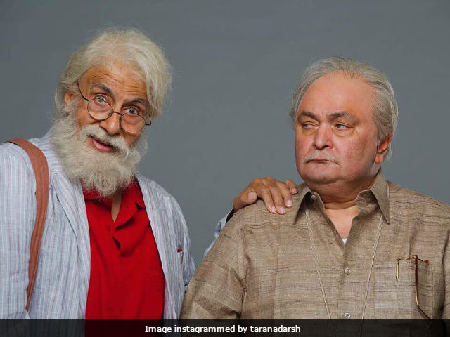 Here's When Amitabh Bachchan And Rishi Kapoor's 102 Not Out Will Release