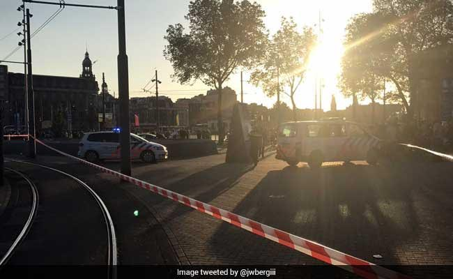 Vehicle  strikes pedestrians outside Amsterdam station, 5 injured