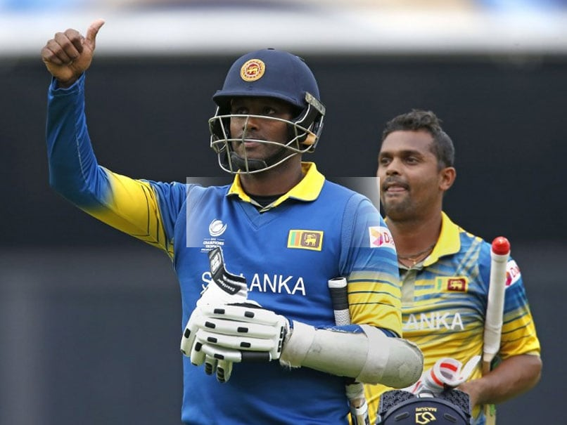 ICC Champions Trophy 2017: Angelo Mathews Credits Kumar Sangakkara For Stunning Win Against India