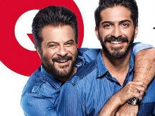 Anil Kapoor And Son Harshvardhan On GQ Cover. <I>Yeh Dil Maange More</i>
