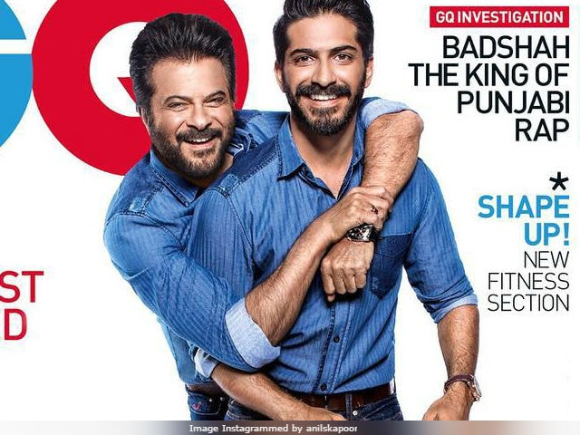 Anil Kapoor And Son Harshvardhan On GQ Cover. Yeh Dil Maange More