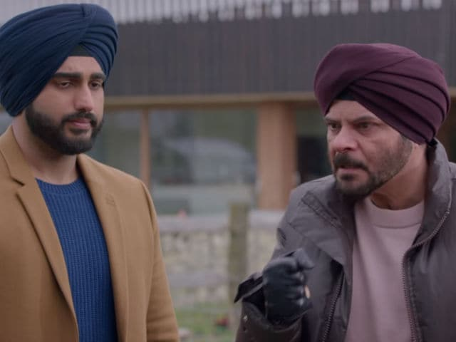 What Anil Kapoor Says About Working With Arjun Kapoor In Mubarakan