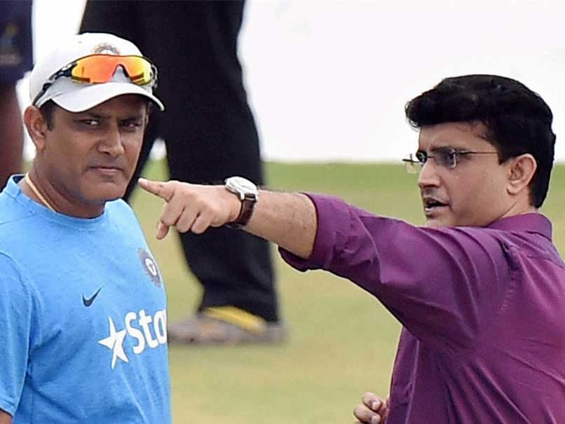 Sourav Ganguly Opens Up About Anil Kumble-Virat Kohli Rift