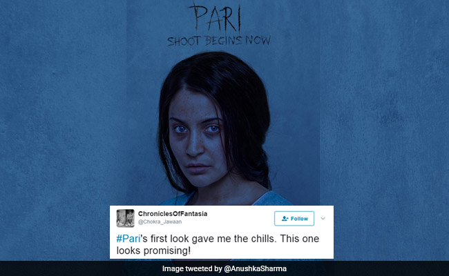 Twitter Can't Stop Praising The First Look Of Anushka Sharma's 'Pari'