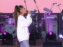Ariana Grande Returns To Manchester. Justin Bieber, Katy Perry And Others Perform At Benefit Concert