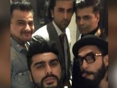 Inside Arjun Kapoor's Birthday Party With Ranbir, Ranveer And KJo