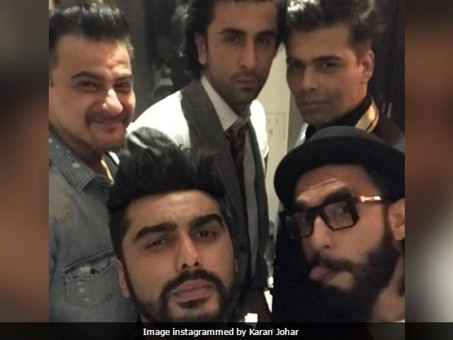 Inside Arjun Kapoor's Birthday Party With Ranbir, Ranveer And KJo