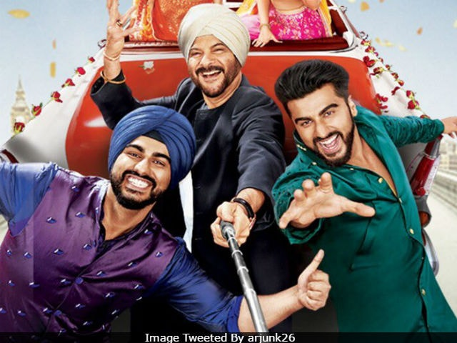 Filming Mubarakan With Anil Kapoor Turned Out To Be A 'Blast' For Arjun Kapoor