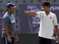 Arjun Tendulkar's Yorker Sends England Batsman Limping Out Of Nets