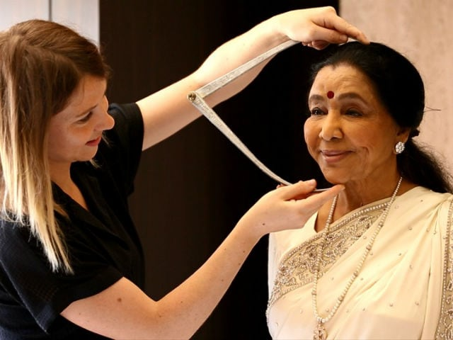 Asha Bhosle's Wax Version Being Readied For Madame Tussauds Delhi. See Pics