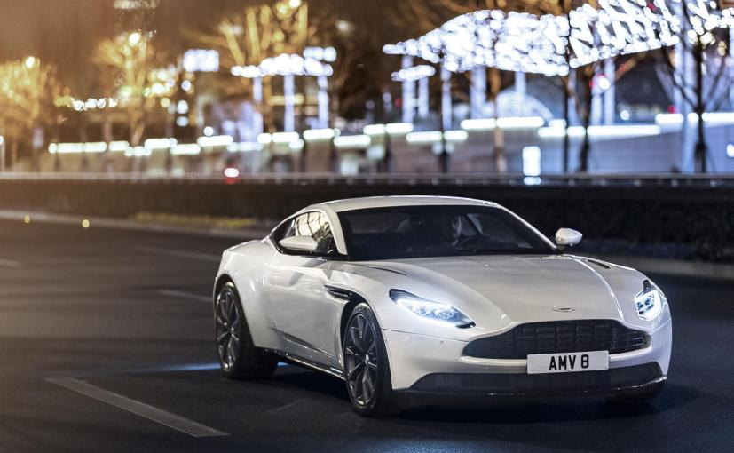 Aston Martin's DB11 Gets A New Twin-Turbo V8 Engine