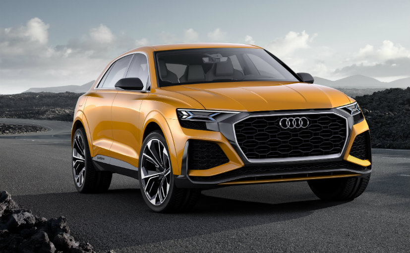 audi q8 to be revealed in june 2018 ndtv carandbike. Black Bedroom Furniture Sets. Home Design Ideas