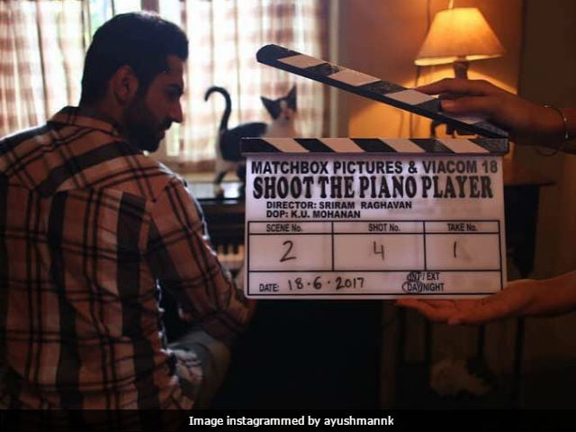 Ayushmann Khurrana Starts Filming Shoot The Piano Player