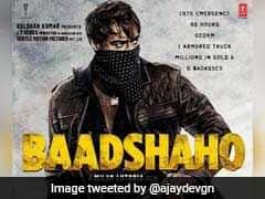 सामने आया 'बादशाहो' का पोस्टर: बंदूक थामे और चेहरा छिपाते दिखे अजय देवगन