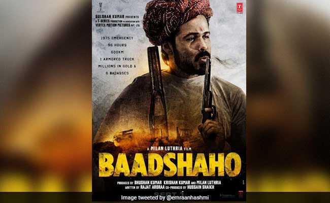'बादशाहो' का एक और पोस्टर रिलीज, राजस्थानी पगड़ी में नजर आ रहे हैं इमरान हाशमी