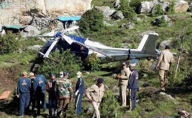 One killed in chopper crash near Badrinath