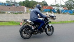 Bajaj Pulsar NS160 Caught Testing In India; India Launch Confirmed
