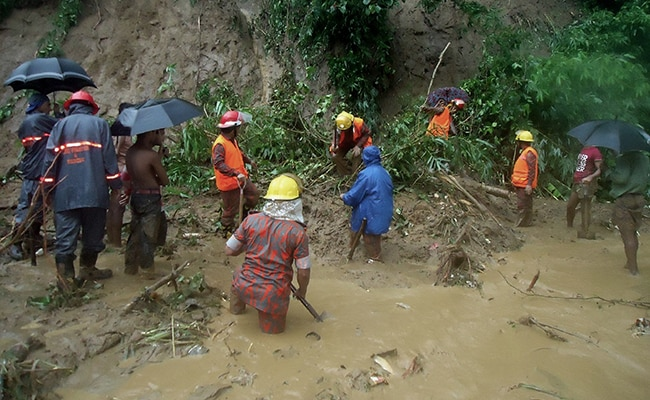77 Killed In Bangladesh Landslides: Police
