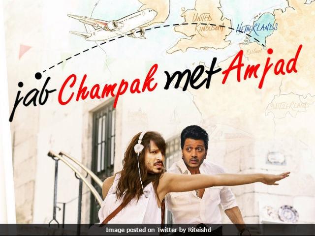 Bank Chor: Riteish Deshmukh Spoofs Poster Of Shah Rukh Khan-Anushka Sharma's Jab Harry Met Sejal