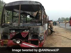 22 Bus Passengers Charred To Death In Collision With Truck In Uttar Pradesh's Bareilly