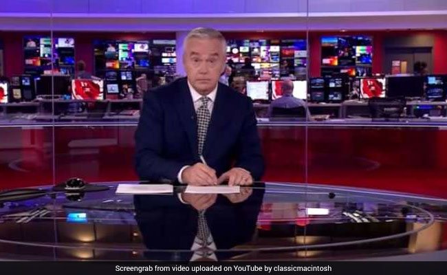 Baap Of All Bloopers: BBC Anchor Stares Blankly, Doodles For 4 Minutes