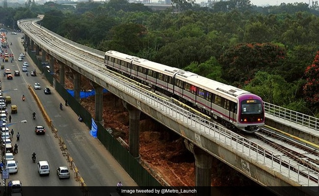 Pranab Mukherjee to inaugurate Green Line of 'Namma Metro'Bangaluru