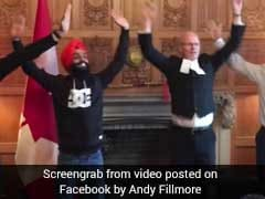 Must-See Video Shows Canadian MPs Doing Bhangra. It's Viral